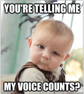 my voice counts